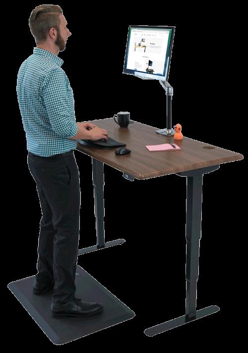 Shop Standing Desks, Sit-Stand, Stand Up and Adjustable Workstations