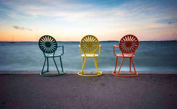Memorial Union Terrace Chairs At Sunset University of   Etsy