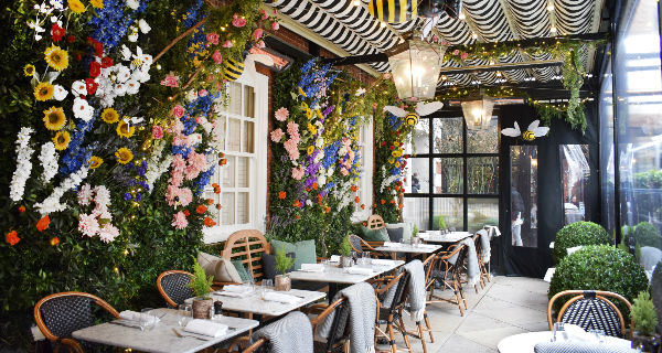 Dalloway Terrace Showcase A Bloomin' Lovely Look For Spring | London