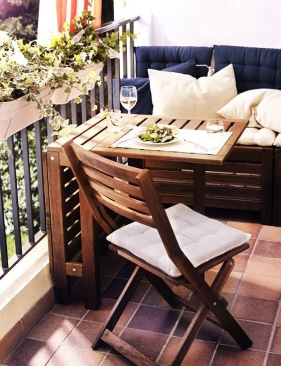 Terrace Furniture For Small Terraces