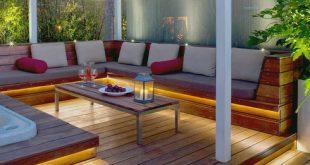 Dallington Terrace - Tropical - Deck - London - by Nick Leith-Smith