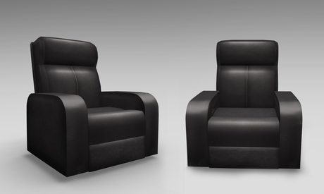 Second Life Marketplace - Full Perm Mesh Leather TV Armchair