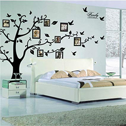 Amazon.com: LaceDecaL Beautiful Wall Decal. Peel & Stick Vinyl Sheet