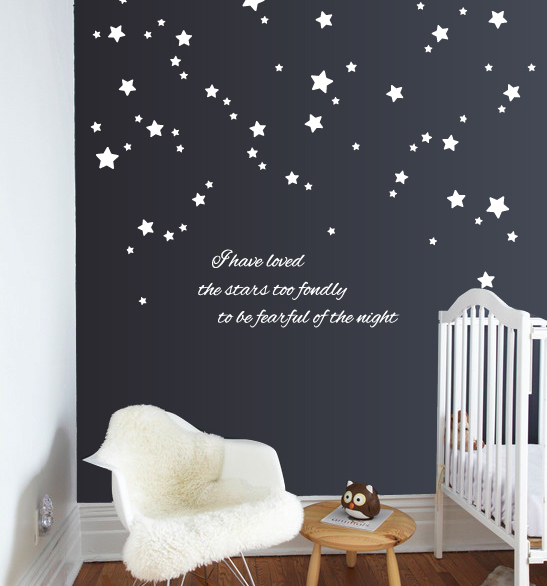 Stars quote | Wall Decals | The Decal Guru