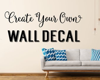 Wall decall is not for eternity