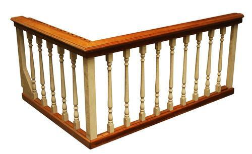 Balcony Wooden Railing at Rs 1200 /foot | लकड़ी की