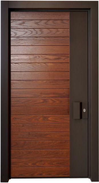 20 Fantastic Designs For Interior Wooden Doors | Door Designs in