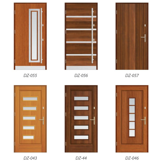 Modern Timber Entrance Doors | Livingwood