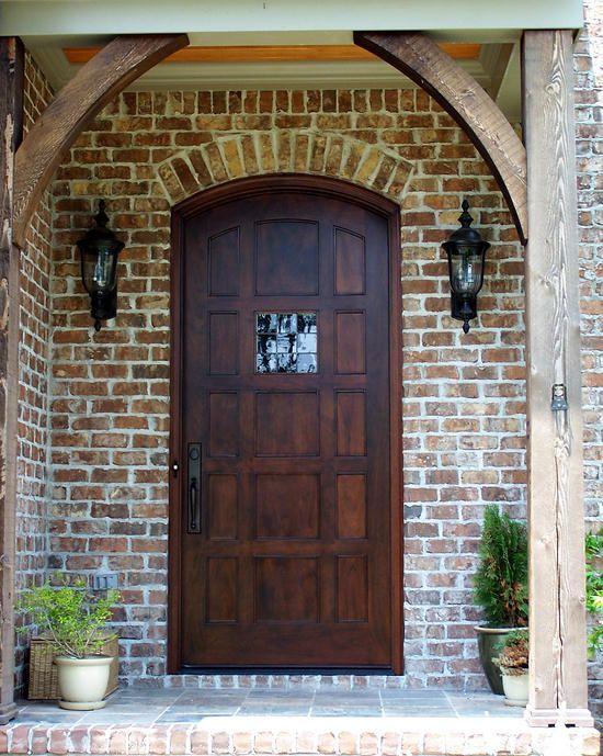 DbyD-2074 | Front Doors | Wooden front doors, Wood front doors