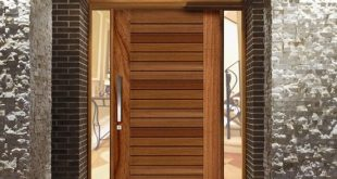 Entrance: Example of Pivot timber Entry Door - Corinthian Pivot