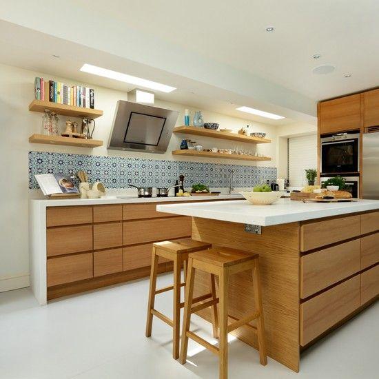 20 Cool Modern Wooden Kitchen Designs | Kitchen | Kitchen, Kitchen