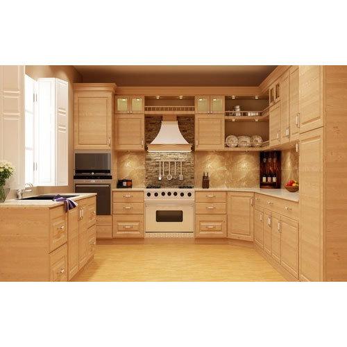 Wooden Modular Kitchen at Rs 1650 /square feet | Lakdi Ka Modular