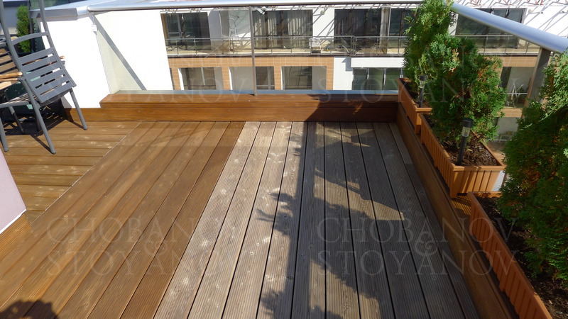 Repair and maintenance of outdoor wooden flooring, wooden deck, teak