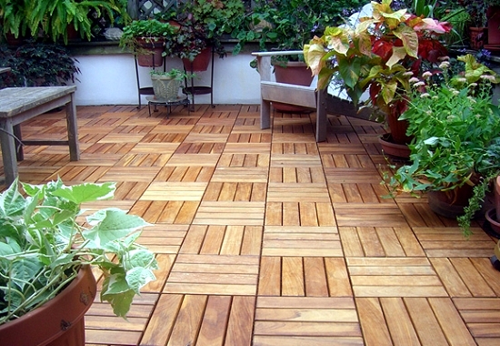 10 reasons why you put in the tiles wooden balcony | Interior Design