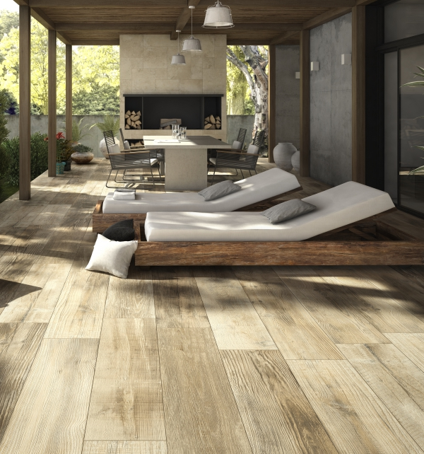 Terrace Porcelain Plank Tiles | Artisans of Devizes