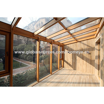 China Aluminum Wooden Sunroom from Huzhou Manufacturer: Zhejiang