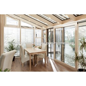 China Aluminum Wooden Thermal Break Sunroom, Winter Garden on Global