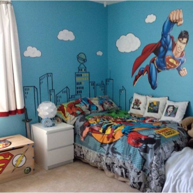 Some simple childrens bedroom decor ideas to help creating kid bed