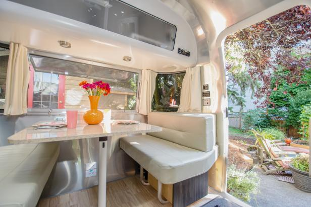 Decorating Ideas for Your Airstream, RV, Trailer and More | HGTV's