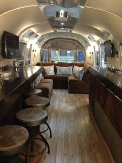 54 Stunning Vintage Airstream Interior Design Ideas | Airstream
