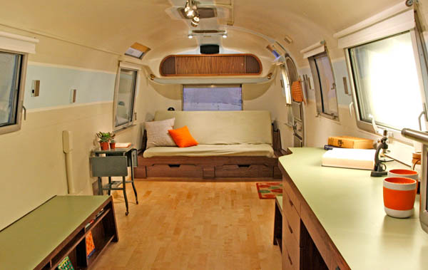 35 Stylish and Gorgeous Airstream Interior Design Ideas that Will