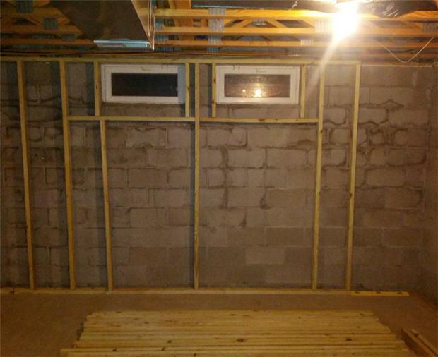 Great Basement Idea - Angled Basement Windows