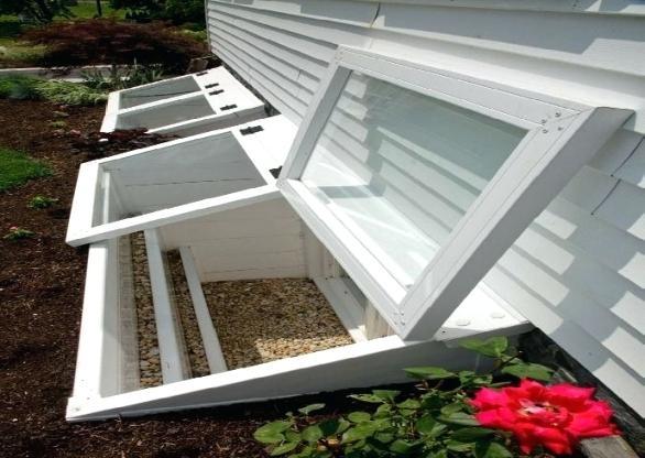 Basement Window Well Ideas Window Well Ideas Window Well Drainage