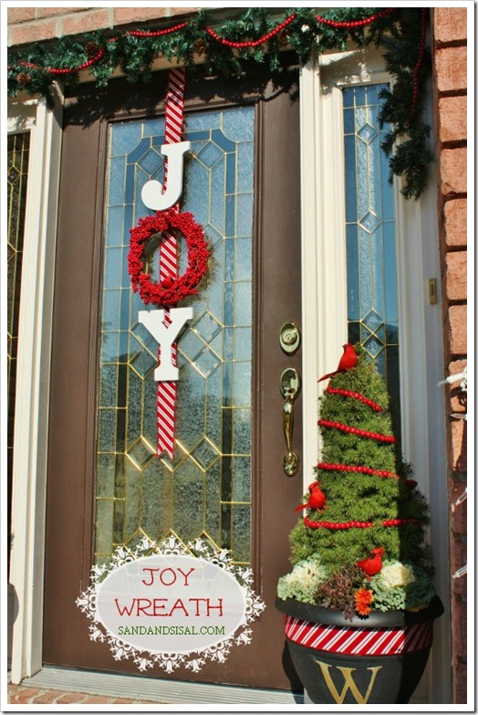 Top Christmas Door Decorations - Christmas Celebration - All about