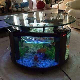 Loving this aquarium coffee table | Fish Tanks | Aquarium, Home