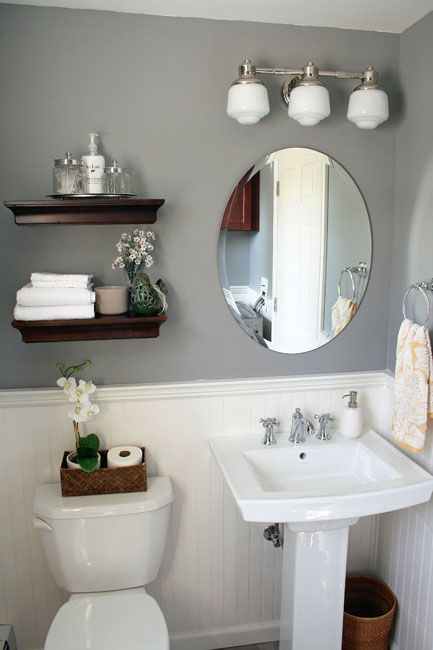 10+ Beautiful Half Bathroom Ideas for Your Home | Bathroom