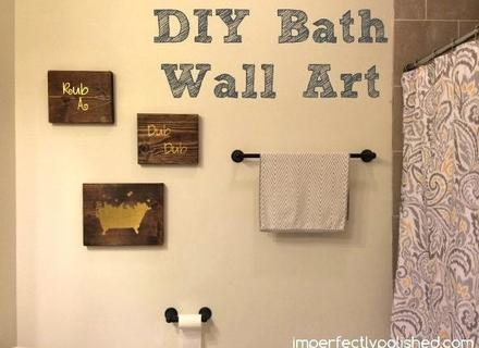 54 Bathroom Wall Art Ideas, Top 20 Of Bathroom Wall Hangings