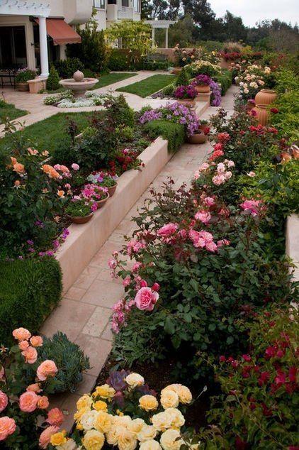 Beautiful Rose Garden Ideas