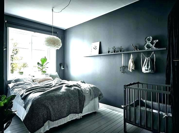 Bedroom Designs With Dark Wall 11