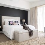 Bedroom Designs With Dark Wall