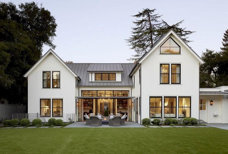 53+ Top Modern Farmhouse Exterior Design Ideas