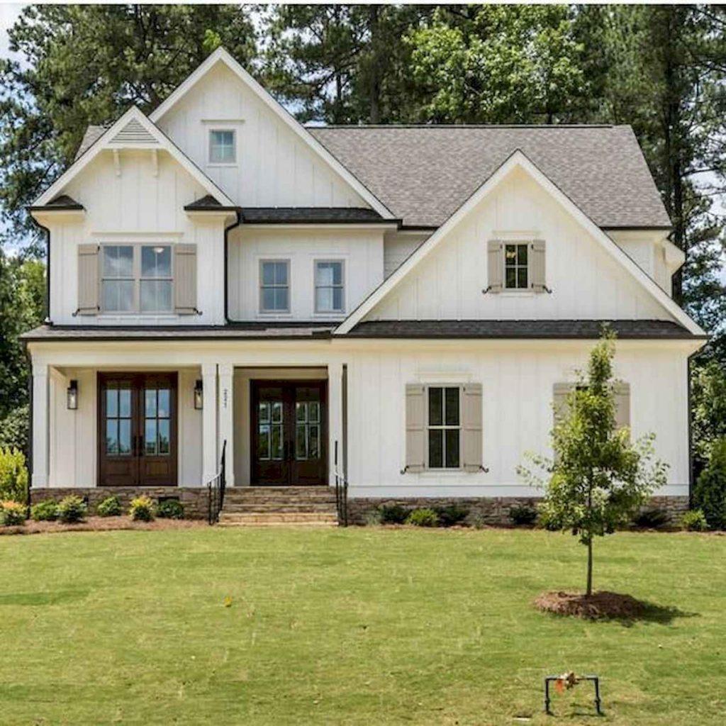 Best Modern Farmhouse Exterior Design Ideas 6