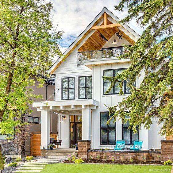 45 Best Modern Farmhouse Exterior Design Ideas