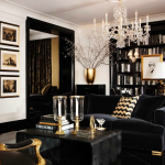 Black And Gold Dining Room Ideas For Inspiration