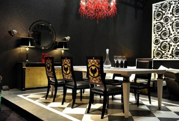 30+ Luxurious Black and Gold Dining Room Ideas For Inspiration