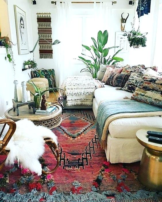 Modern Bohemian Style Living Room Perfect Bohemian Style Living Room