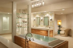 17 Breathtaking Bathrooms With Infinity Bathtubs That No One Can