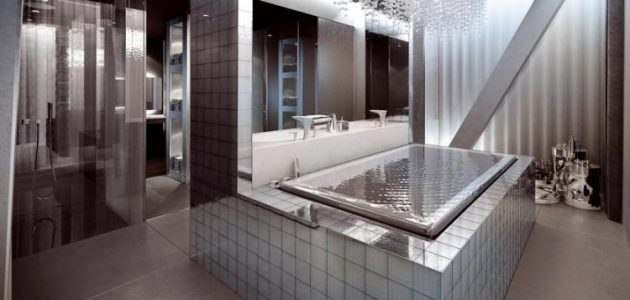 Breathtaking Bathrooms With Infinity Bathtubs 4