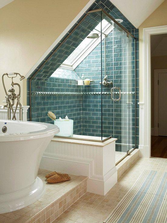 Blue Bathroom Design Ideas | Bathrooms I Would Never Leave | Attic