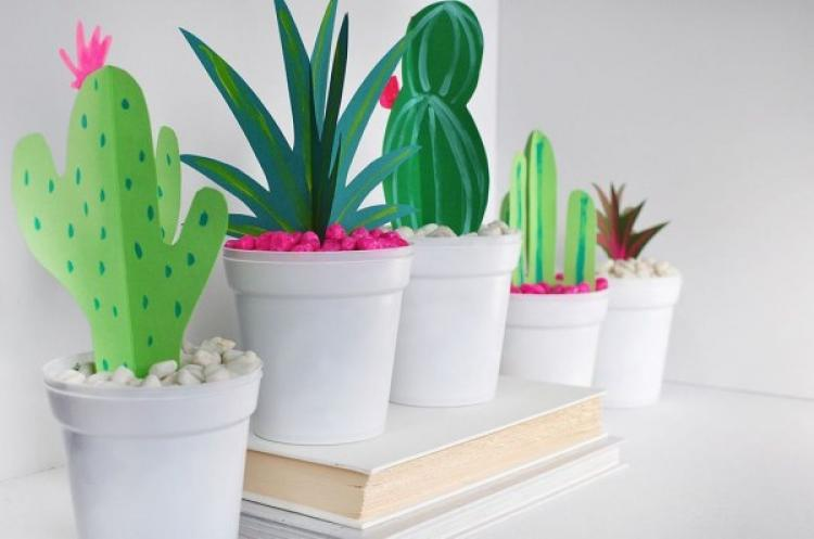 Cute Cactus Decor Ideas For Your Home