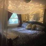 Canopy With Sparkling Lights Decor Ideas