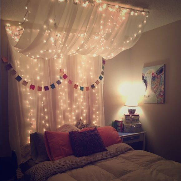Other - Full/Queen Bed Canopy with lights | The Bedroom in 2019