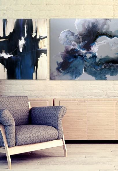 130 Inspiring Canvas Wall Art Decor to Make Your Living Room Look