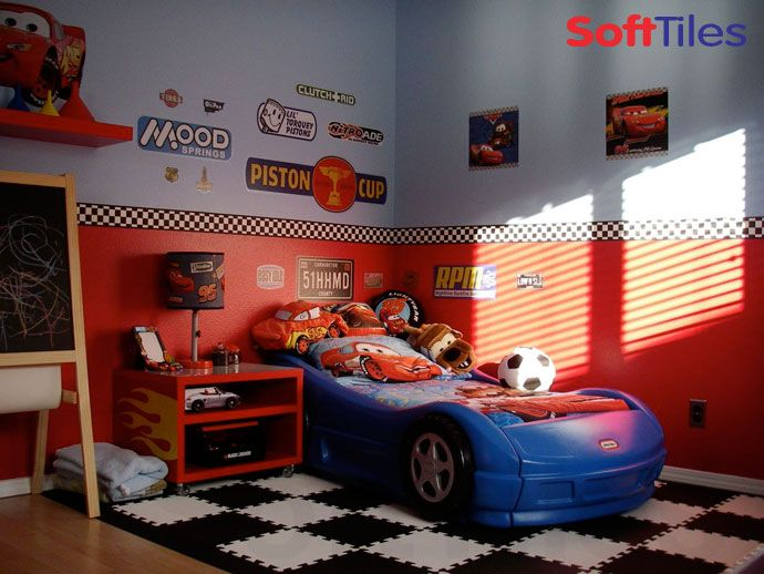 Car Themed Room Racing Theme Bedroom Kids Room Ideas Pinterest