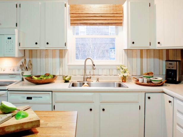 Do-It-Yourself DIY Kitchen Backsplash Ideas + HGTV Pictures | HGTV