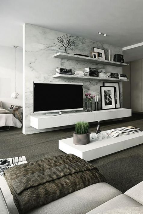 40+ Best and Adorable Modern Living Room Decoration Ideas Spring
